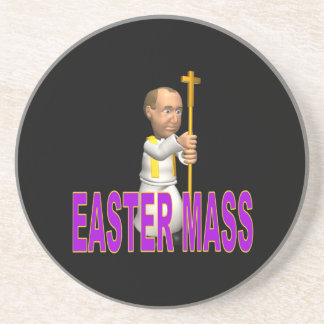Easter Mass Beverage Coasters