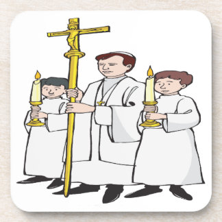 Easter Mass Drink Coaster