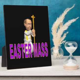 Easter Mass Display Plaque