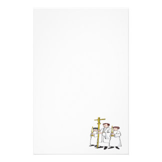 Easter Mass Stationery Paper