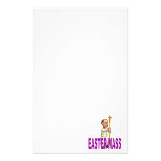 Easter Mass Stationery Design