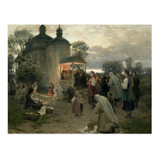 Easter Matins Postcard