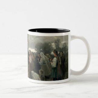 Easter Matins Two-Tone Coffee Mug