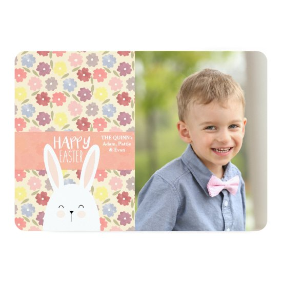 Easter Medley Photo Holiday Card