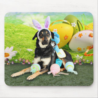 Easter - Mixed Breed - Jake Mouse Pad