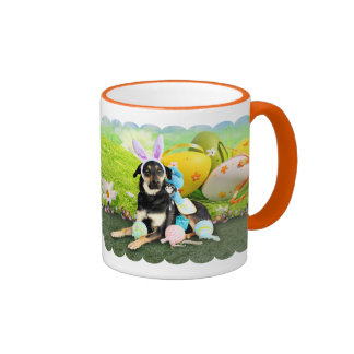 Easter - Mixed Breed - Jake Ringer Coffee Mug