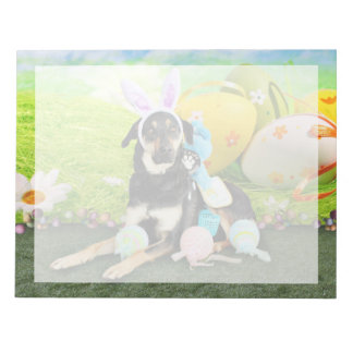 Easter - Mixed Breed - Jake Note Pad