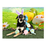 Easter - Mixed Breed - Jake Post Card