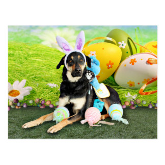 Easter - Mixed Breed - Jake Postcard