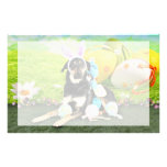 Easter - Mixed Breed - Jake Personalized Stationery