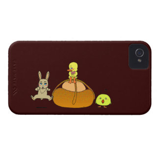 Easter Mona iPhone 4 Case-Mate Case