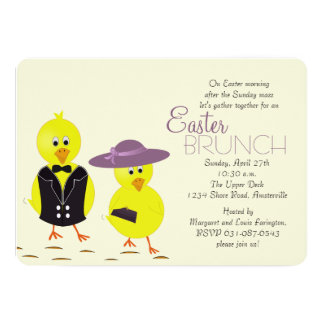 Easter Morning Brunch Invitation