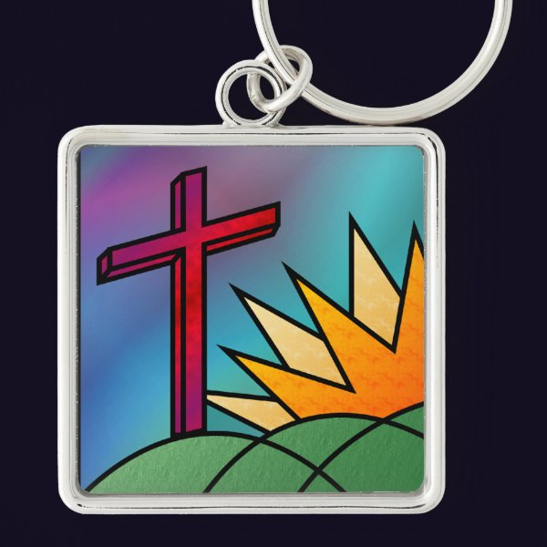 Easter Morning Keychain