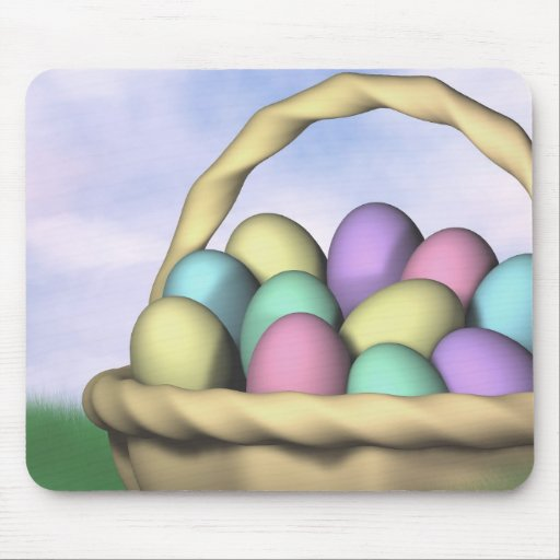 Easter Morning Mouse Pad