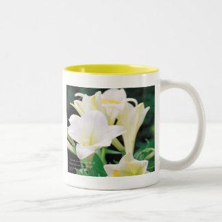 Easter Two-Tone Coffee Mug