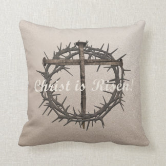 EASTER NAILS & CROWN OF THORNS PILLOW