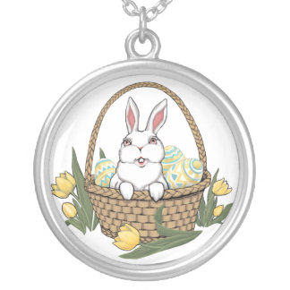 Easter Necklace Easter Bunny Trinket Easter Gifts