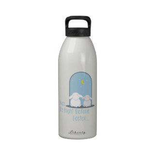 Easter Night Water Bottle