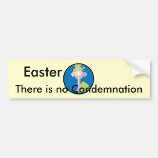 Easter, No Condemnation-Customize Bumper Sticker