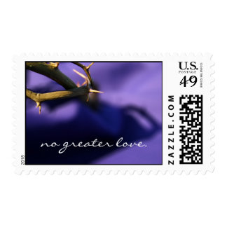 Easter - no greater love. postage stamp