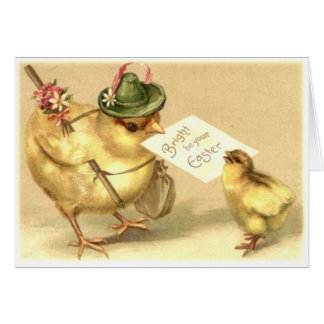 Easter old Fashion Card