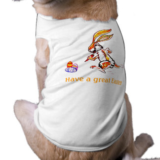 Easter on the run dog tee
