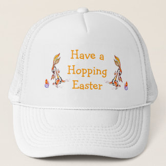 Easter on the run trucker hat
