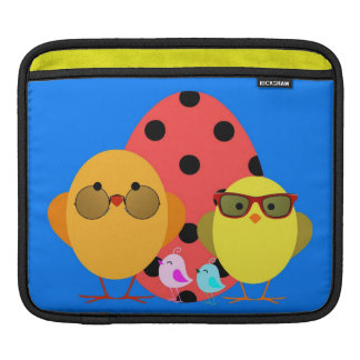 Easter or Spring Egg & Chick Family - Cute! iPad Sleeve