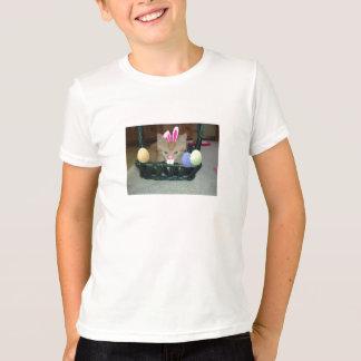 Easter Orange Tabby Kitty Cat T-Shirt