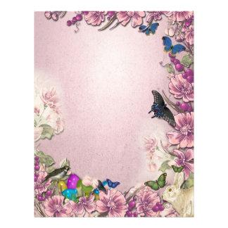 Easter Ostara Butterfly Enchanted Letterhead