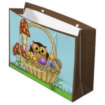 Easter Owl Large Gift Bag