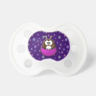 Easter owl pacifier
