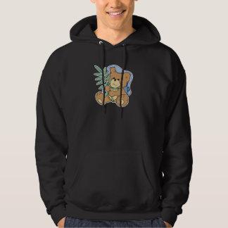 easter palm sunday teddy bear design hoodie