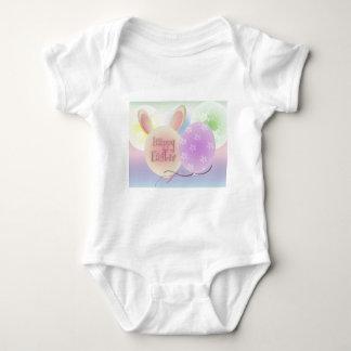 Easter parade balloons baby bodysuit