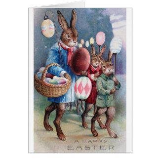 Easter Parade Card