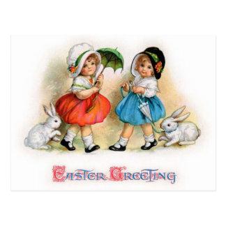 Easter Parade Cuties - Postcard