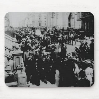 Easter Parade Fifth Avenue NYC Mouse Pad