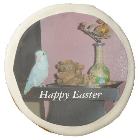 Easter Parrotlet Sugar Cookie