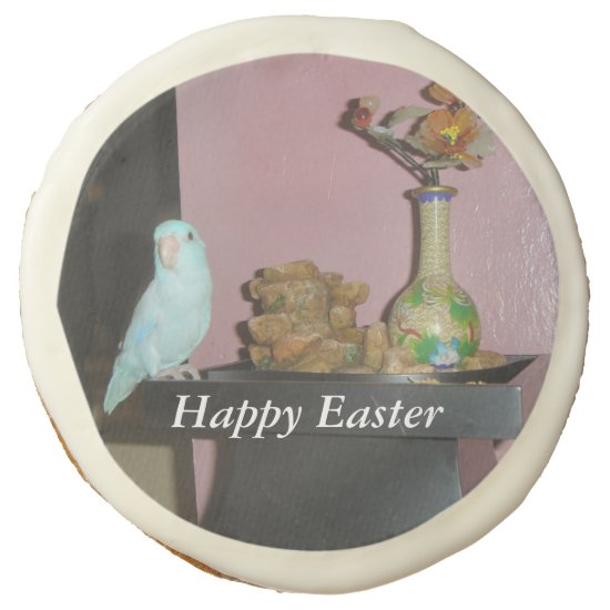 Easter Parrotlet Sugar Cookie