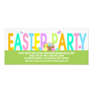 Easter Party Card