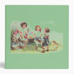 Easter Party Green Binder