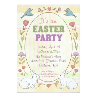 Easter dinner invitations announcements zazzle easter party invitation stopboris Image collections