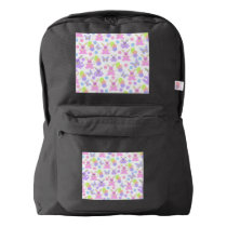 Easter Party Pattern Backpack