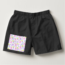 Easter Party Pattern Boxers