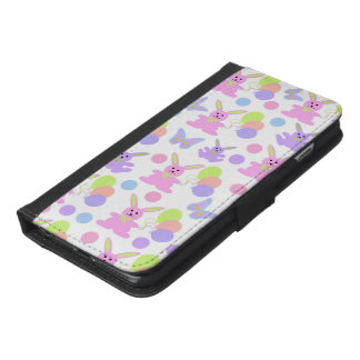 Easter Party Pattern iPhone 6/6s Plus Wallet Case