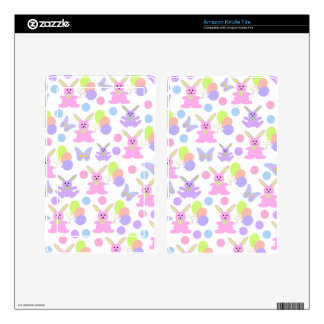 Easter Party Pattern Kindle Fire Skin