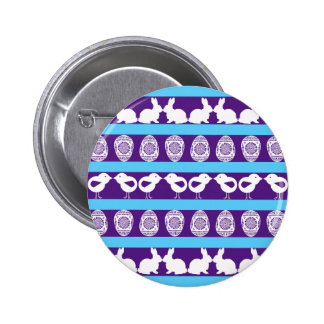 Easter pattern. Any background color Button