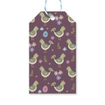 Easter Pattern Gift Tags