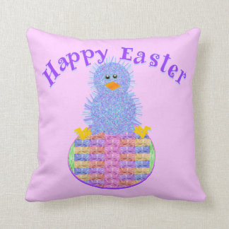 Easter peep throw pillow