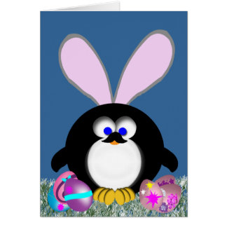 Easter penguin easter gifts on zazzle easter penguin card negle Image collections